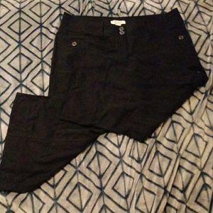 White House Black Market black capris/pants